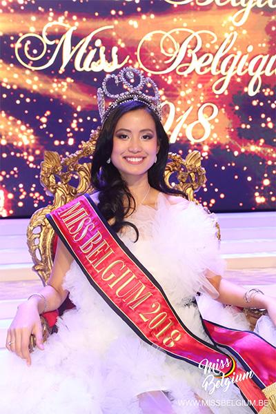Angeline Flor Pua, Miss Belgium 2018