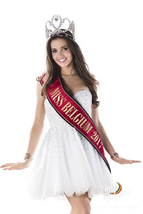 Romanie Schotte, Miss Belgium 2017
